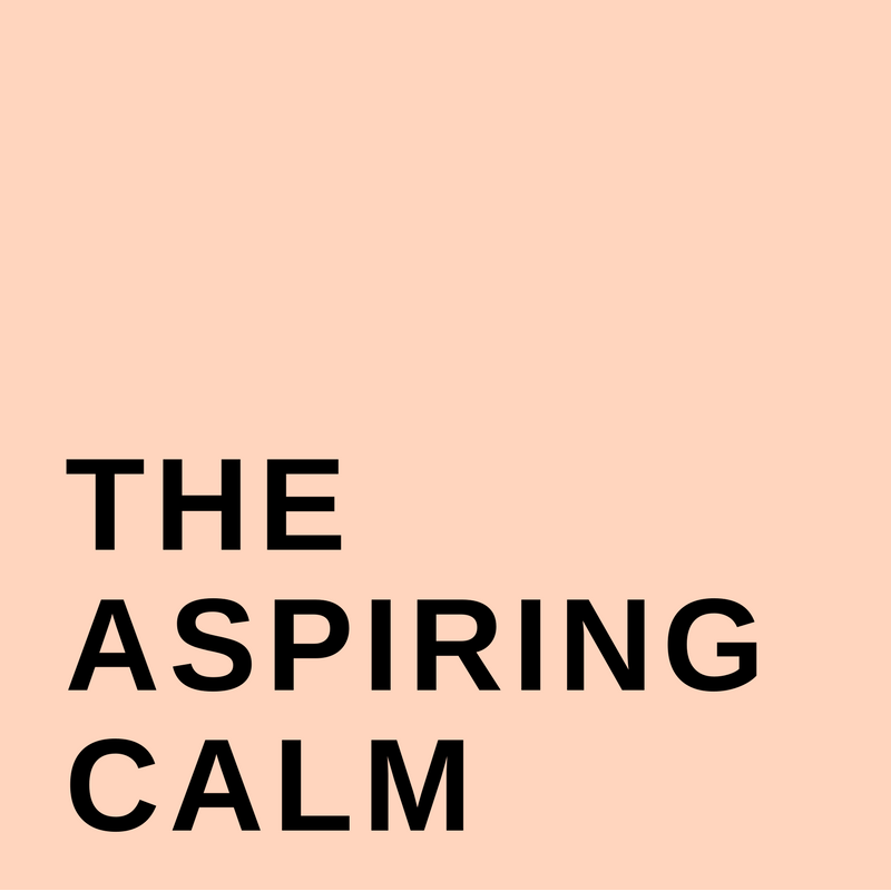 The Aspiring Calm